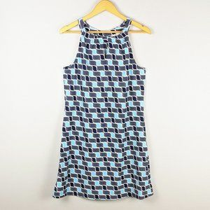 Jude Connally Dresses - Jude Connally Graphic Print Keyhole Lisa Dress L